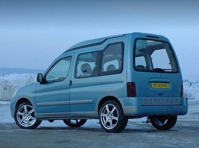 Berlingo Escapade 2004 concept