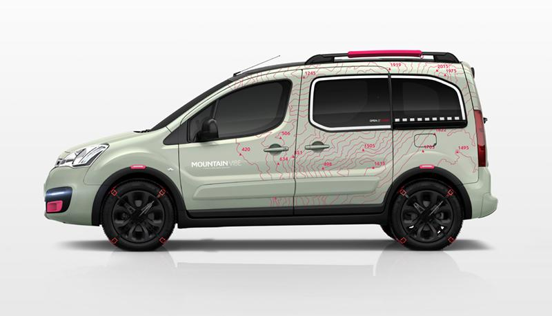 Berlingo Mountain Vibe 2015 concept