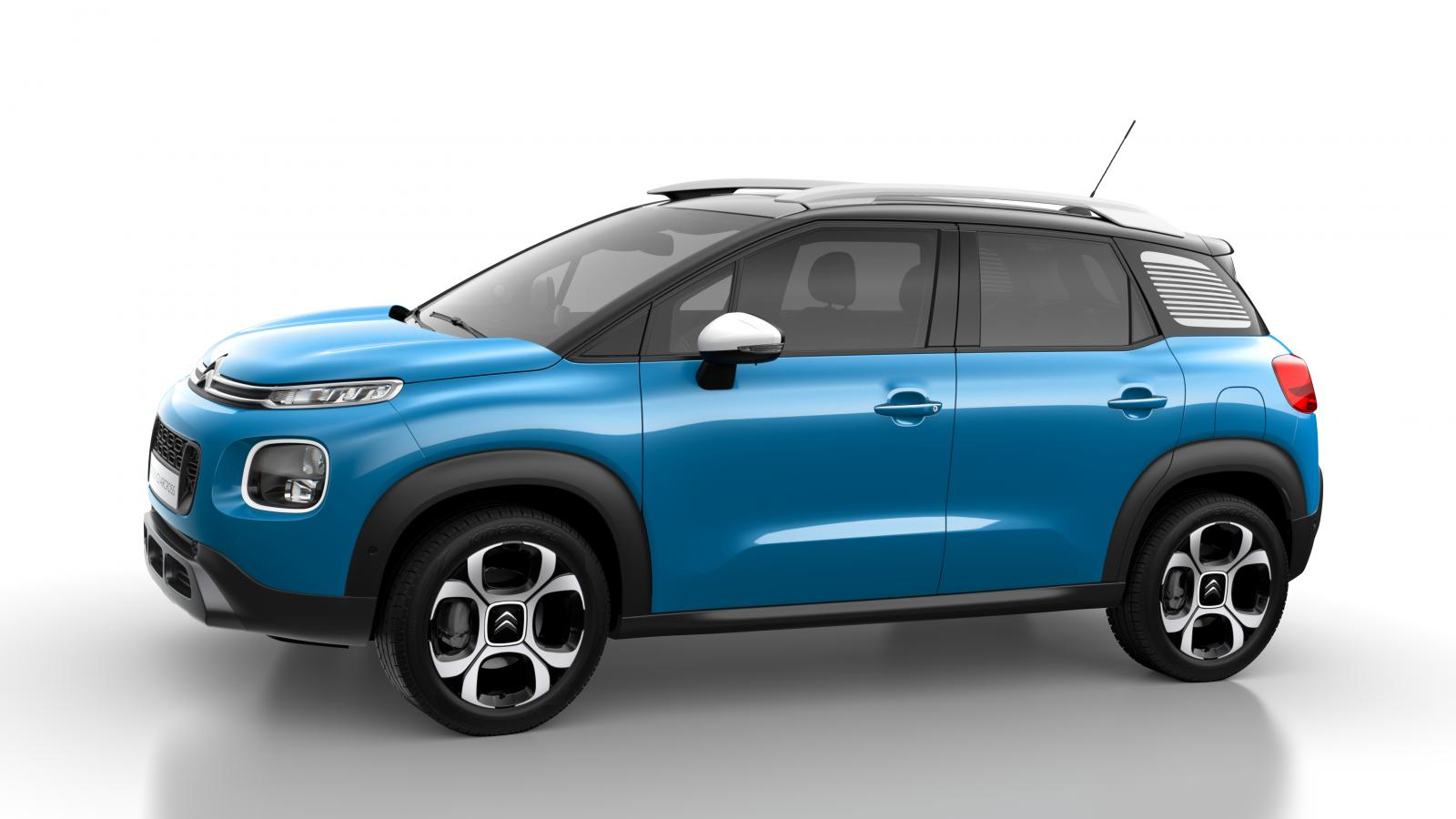 Compacte SUV C3 Aircross - Breathing Blue