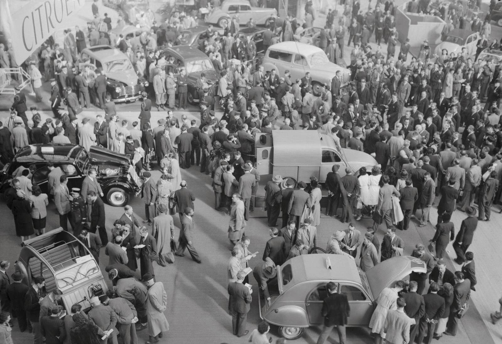 Salon de l'automobile 1951